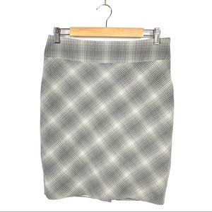 THE LIMITED Gray and Tan Pencil Skirt, Sz. 4